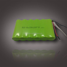 7.2v 2500mah ni-mh rechargeable battery