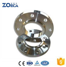 Dn500 Pn10 ASTM A694 F52 Steel Colostomy Flange For Concrete Pump And Argon Oil