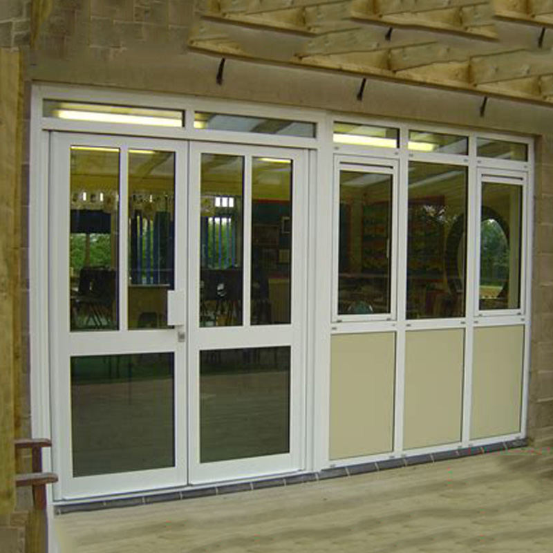 Decorative Latest Design Interior Used Commercial Glass Impact Resistant Windows Prices