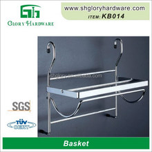 High Quality Metal Stainless Steel Customized Cheap Removable Bicycle Basket