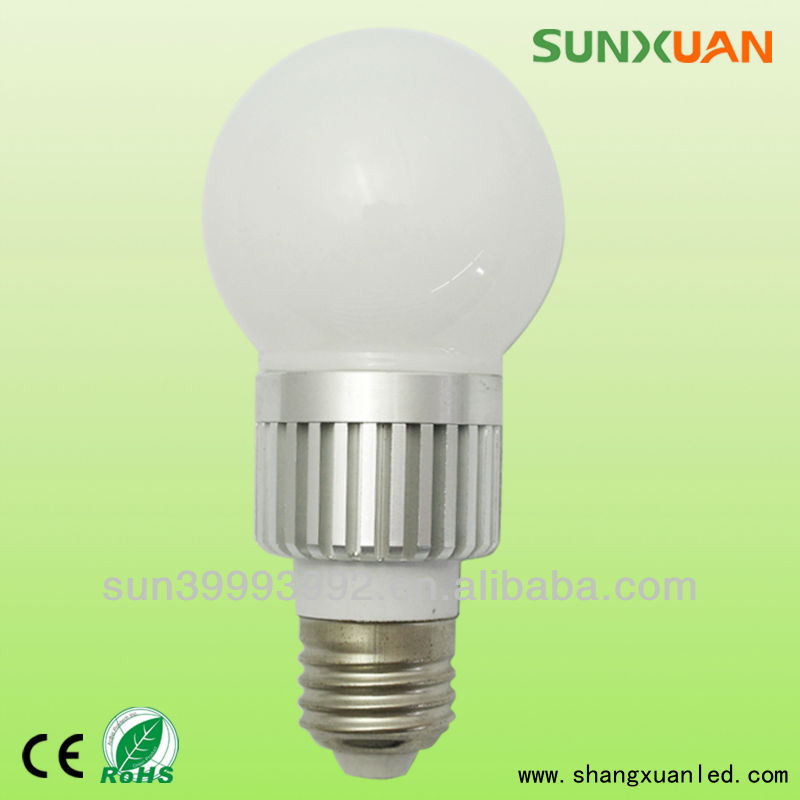 holiday detector 3w e27 led bulb