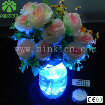 remote control led pond lights