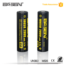 Shenzhen wholesale Basen 18650 rechargeable lithium 2800mah 35a battery 18650 li-ion 3.7v cell for electric tools