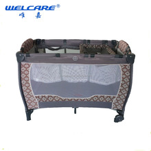 Metal Folding Baby Crib Type Antique Baby Beds