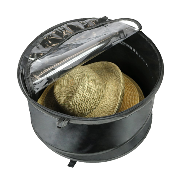 straw hat and cap storage bag large clothing storage bags plastic clear pvc zippered china storage bag