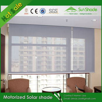 Hot Sales Motorized Solar Shade Electric Solar Shade Automatic Solar Shade Buy Motorized Solar