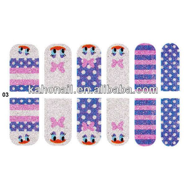 2013 Yiwu kaoh new nail art products / nail patch /nails covering