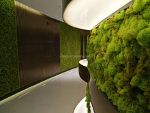 Top wholesa factory price artificial plant wall artificial green wall artificial moss grass wall for decoration