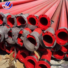 Galvanized greenhouse geothermal PE material concrete pipe coating