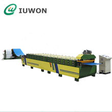 Standing Seam Metal IBR Roof Sheet Roll Forming Machine