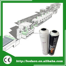 200CPM High Speed Automatic Metal Aerosol Can Production Line