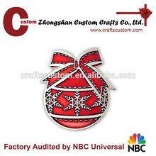 New product christmas lapel pin customized