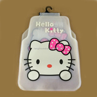 Transparent Hello Kitty Cute universal Car Foot Mat