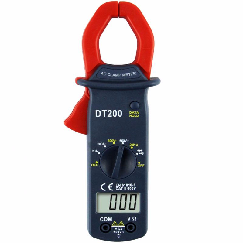 Frankever high quality DT200 digital multimeter clamp multimeter