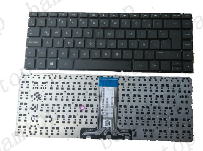Factory Price For HP 14 - AB Spanish Laptop Keyboard Custom