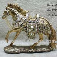 Hot Selling Decoration Resin Cast Horse