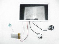 2014 popular 7.0 inch LCD tft video module for greeting brochure card