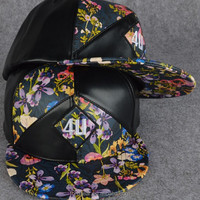 special leather snapback hat wholesale