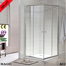 Squre, sliding doors ,low price shower enclosure