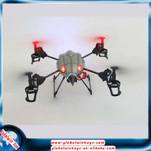 WL Toys 2.4Ghz 4CH Beetle v969 RC UFO RC Quadcopter With Bubble Function Light Aircraft Carrier Model