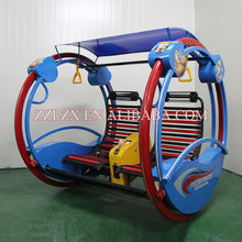 Indoor amusement ride kiddie rides leswing happy car sale used for children rides
