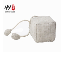 Top quality trendy linen fabric pouch