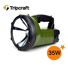 Best 35w HID handheld Hunting spotlight,Powerful Rechargeable Portable 75W HID Marine Military SEARCH LIGHT