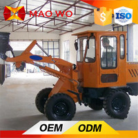 wheel tractor with front end loader widely used in farm or garden