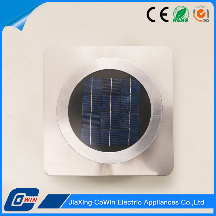 New Type Outdoor Round 4W Solar Exhaust Fan