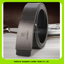 16234 High quality thick cowhide split leather buckle men belts