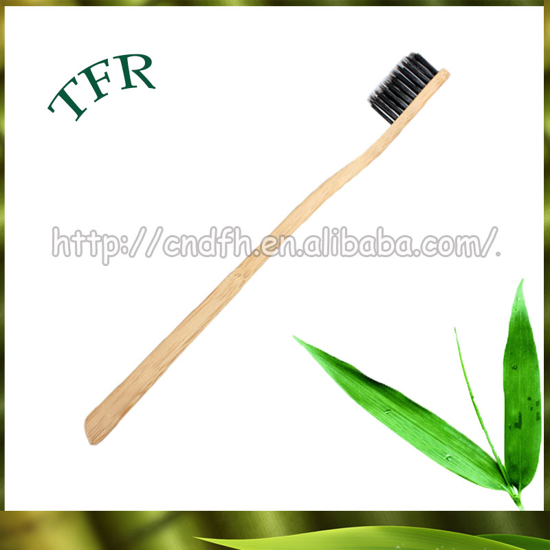<strong>Eco</strong> friendly biodegradable wooden timber toothbrush for Child