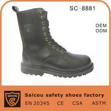 Guangzhou military police boots factory (SC-8881)