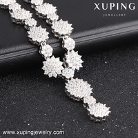 S-36 Xuping jewellery set looks like flower as fashion costume jewelry china