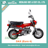 2018 New homologue 125cc street motorcycle high quality new cafe racer (eec euro approval) Dax 50cc (Euro 4)