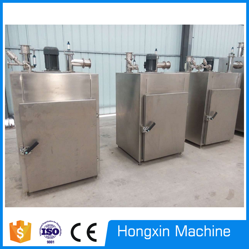 fish smoking machine, fish smoking and drying machine, meat smoking machine