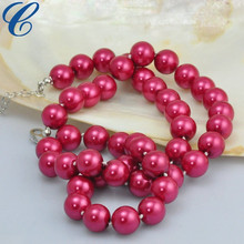 Wedding Anniversary Round Pearl Elegant Beads Necklaces in bulk