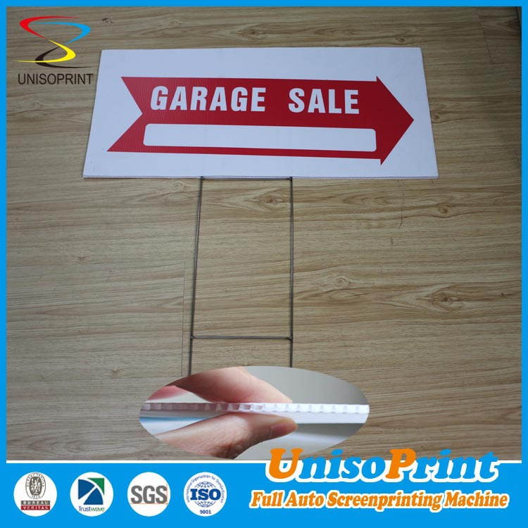 Corflute plastic sheet sign corrugated plastic yard signs Printed Plastic Coroplast Poster Board