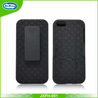 New arrival back cover holster case for iphone se 5se