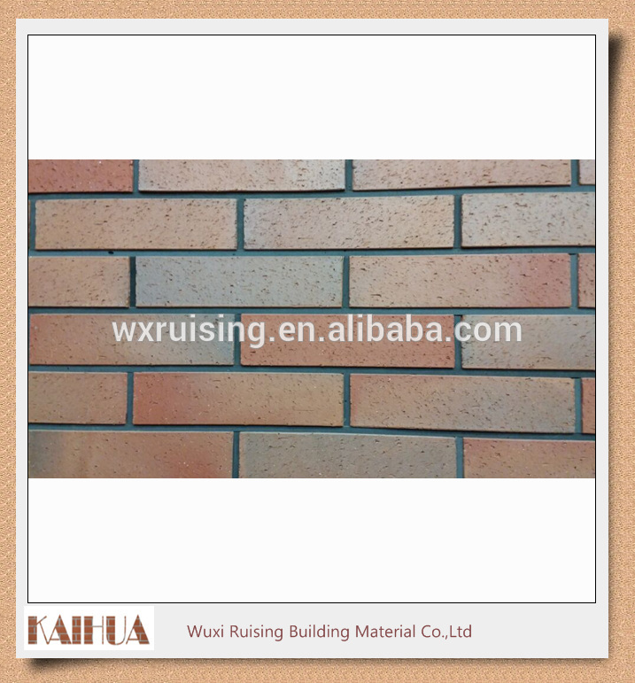 Clay China manufacturer decorative fambe clay brick wall