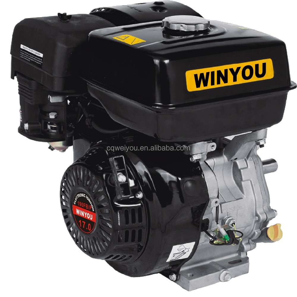 17HP 4 Stroke 439cc Air Cooled Gasoline Engine 192F