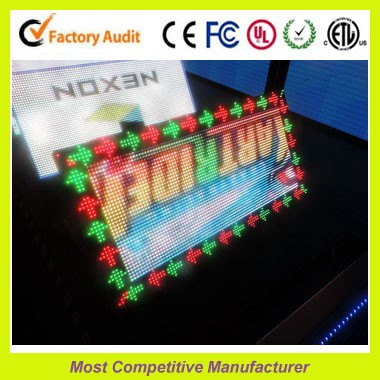 Shenzhen led PP7.62 true color display indoor led screen factory