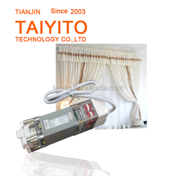 Taiyito Remote Control Electric Electric Curtain System Electric Curtain Motor View Electric
