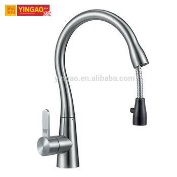 Fantasy design contemporary style 304 stainless steel kitchen faucet