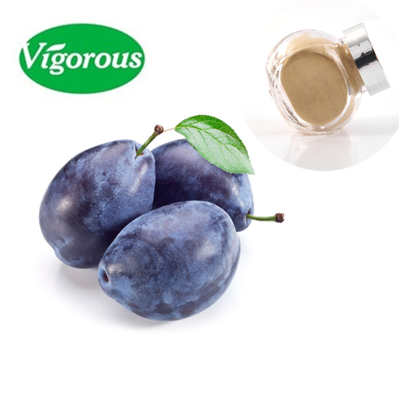 Organic dark plum extract high quality black plum powder