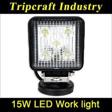 Wholesale Led Work Light auto part 15W LED WORK LIGHT headlights car /trunk /vehicle parts 10-30V DC