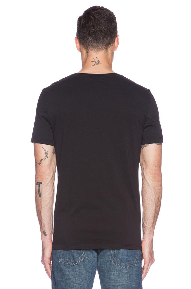 Dri Fit Cotton V Neck Blank T Shirts For Men Plain T