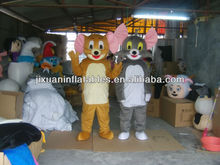 hot sale costume tom and jerry adult mascot costume
