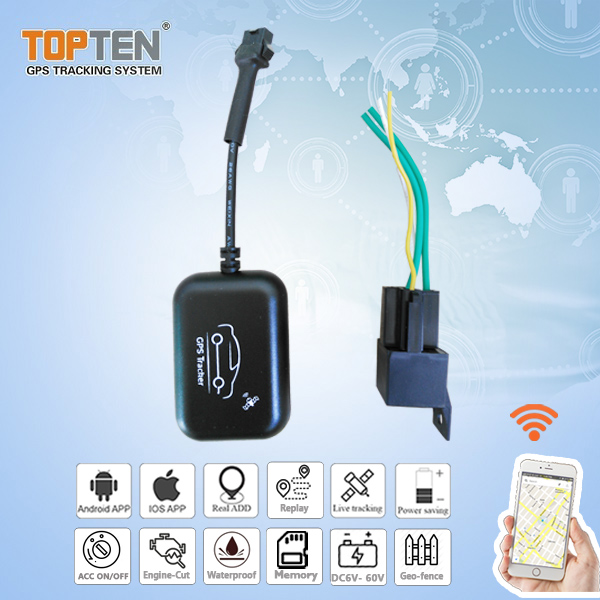 Mini Size GPS Rastreador Veicular Tracker with Remote Cut Fuel/oil