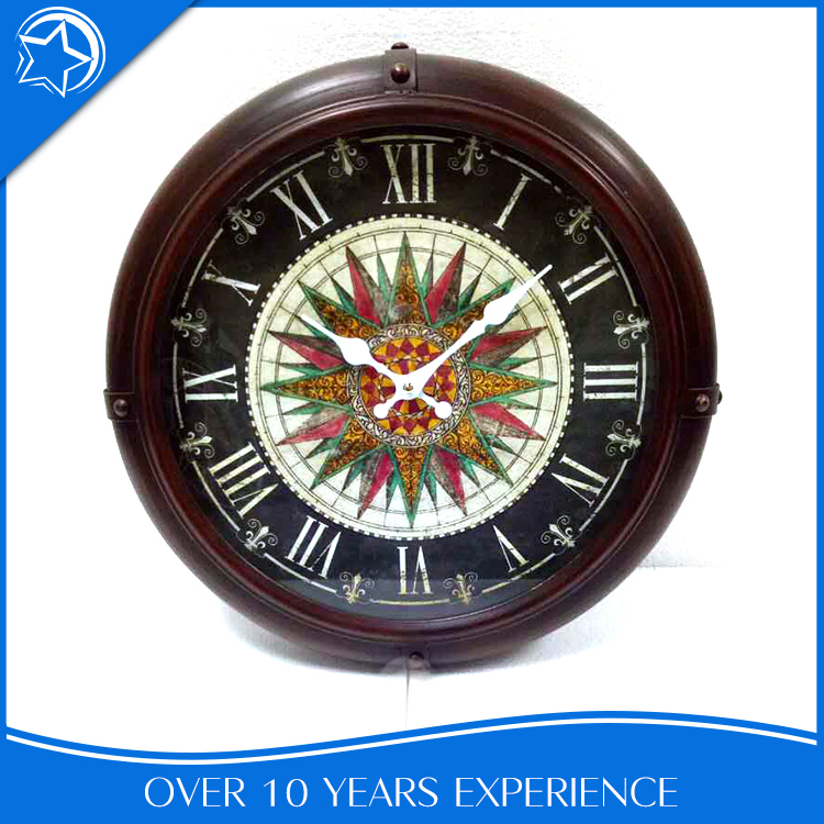 Design Home Round Metal Wholesale Custom Wall Clock