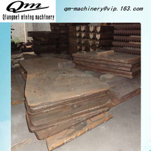 High Manganese steel accessories Jaw crusher liner